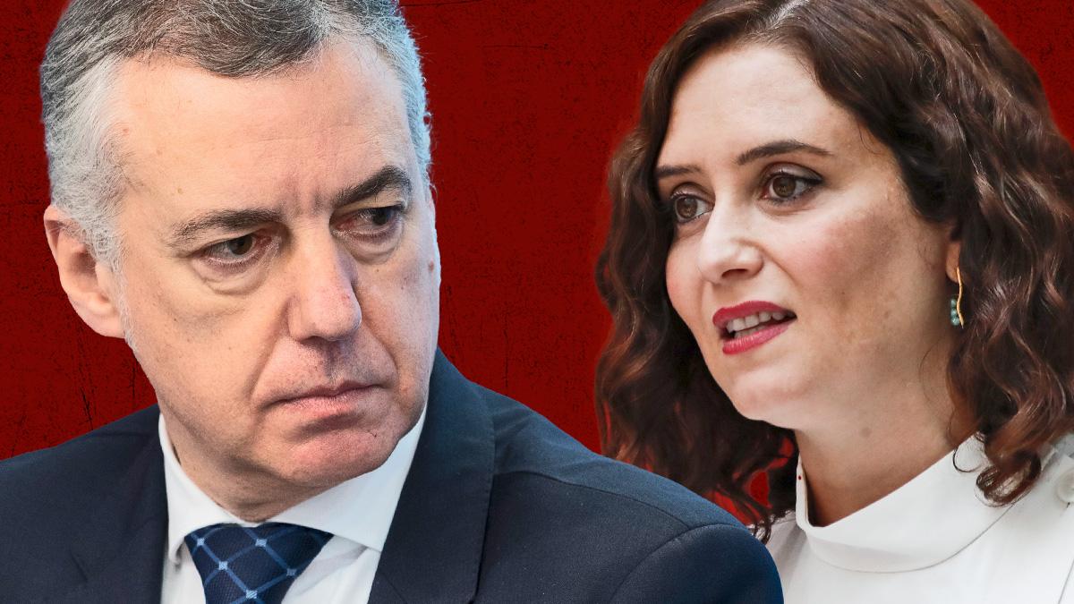Iñigo IUrkullu e Isabel Díaz Ayuso.