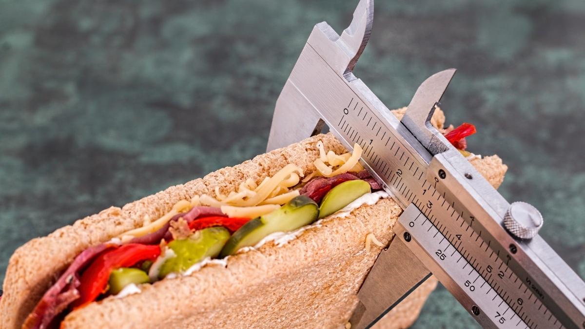 Esconder la comida en dietas