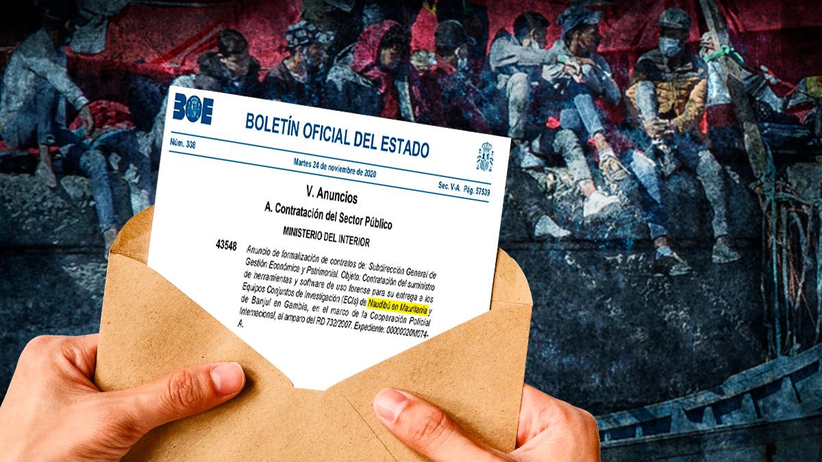 Contratos publicados por el BOE