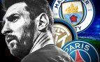 Manchester City, Inter y PSG esperan a Messi en enero