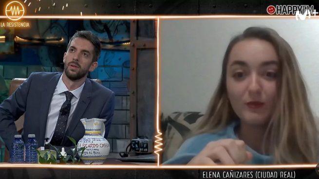 Elena Cañizares en La Resistencia
