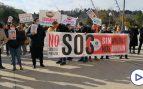 Miles de hosteleros se concentran en Valladolid contra las restricciones al grito de