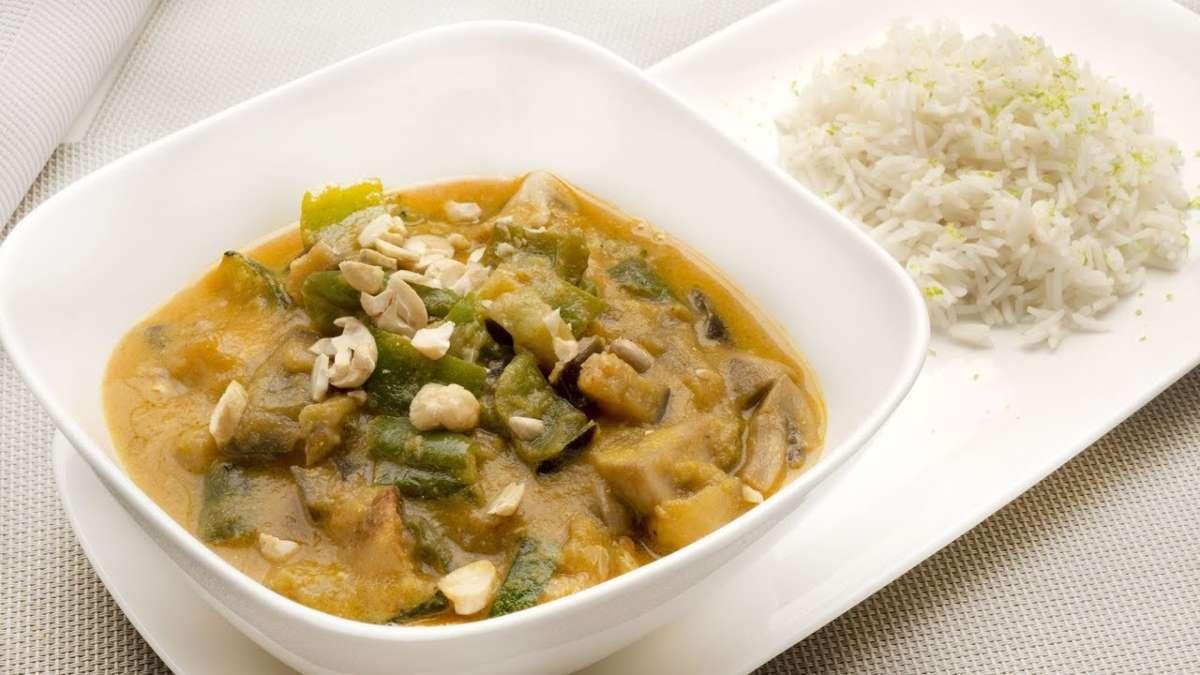 Receta de curry de okra
