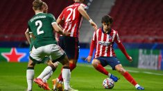 Atlético de Madrid – Lokomotiv. (AFP)
