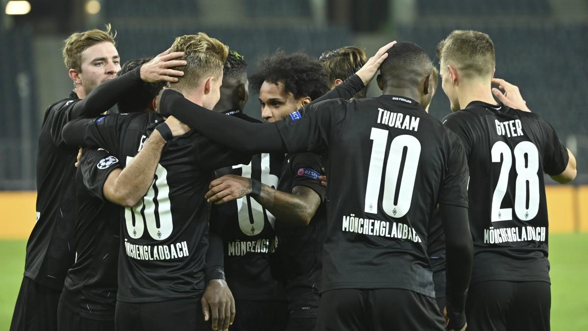 El Borussia Mönchengladbach gana al Shakhtar Donetsk. (AFP)