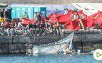 Así traen las mafias los cayucos hasta las costas de Canarias