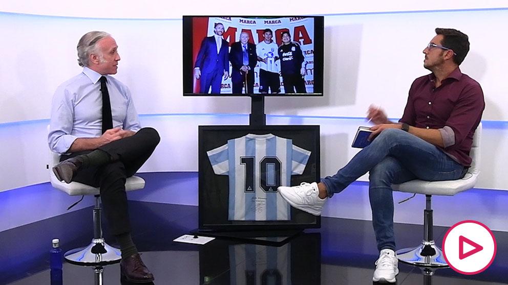 Eduardo Inda analiza la figura de Diego Armando Maradona