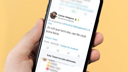 El tuit borrado de Esther Melgosa, dirigente de las juventudes de ERC.