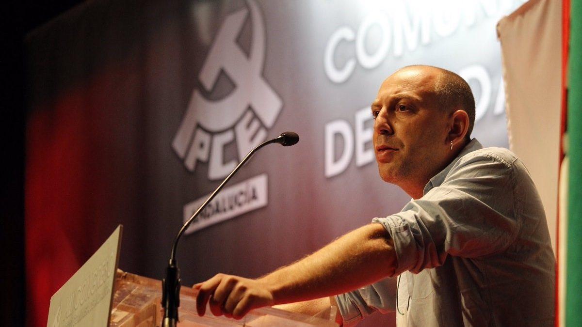 El secretario general del PCA, Ernesto Alba.