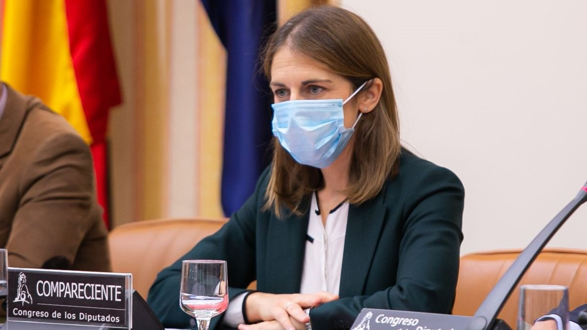 Paula Conthe, presidenta del FROB.