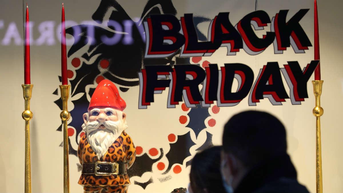 Escaparates de Black Friday