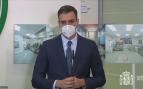 Pedro Sánchez comparece tras visitar la fábrica de Laboratorios Farmacéuticos Rovi, streaming en directo
