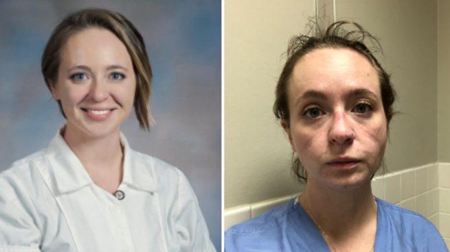El cambio de una enfermera tras meses de lucha contra el Covid-19