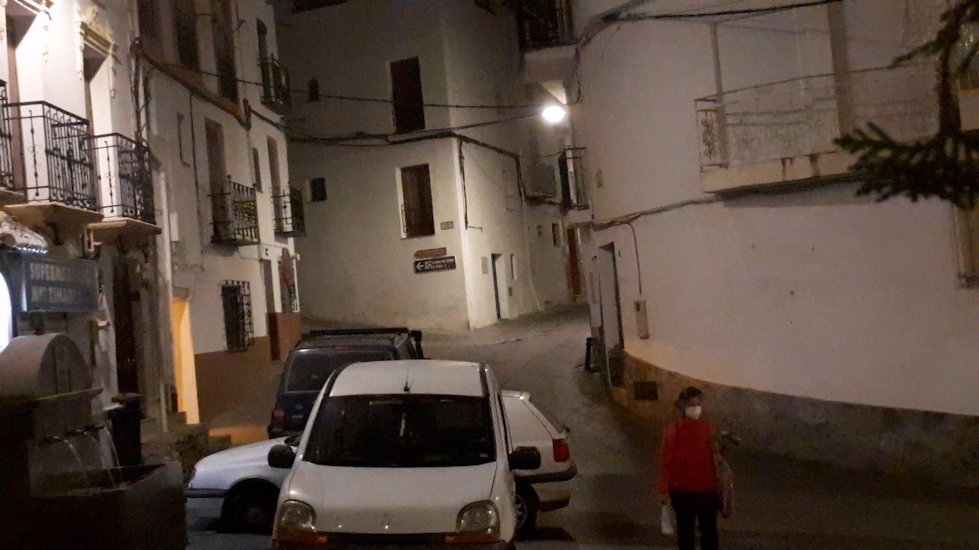 Calles de Güéjar Sierra, en Granada.