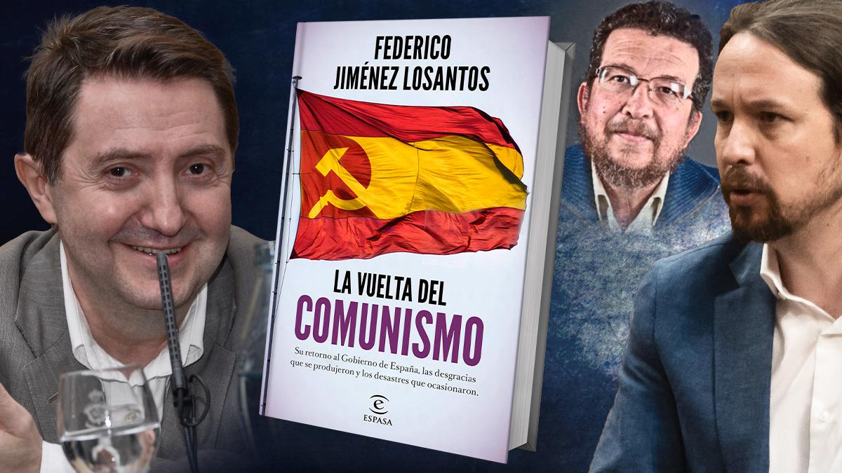 Jiménez Losantos indaga en su libro 'La vuelta del comunismo' sobre el pasado del padre de Pablo Iglesias.