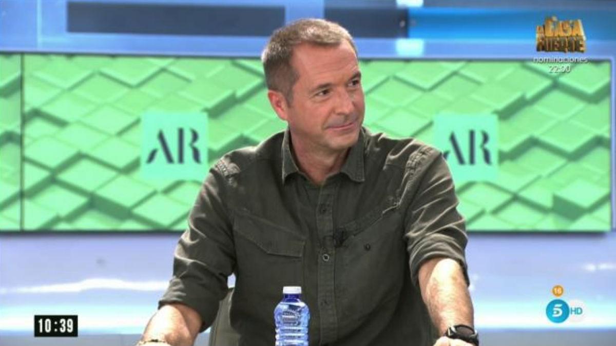 Manu Carreño, en 'El programa de Ana Rosa' (Mediaset)