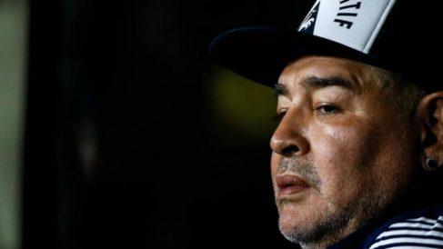 Maradona en una foto reciente (AFP).