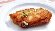 Receta de Filetes de pollo con pesto gratinado con queso de cabra