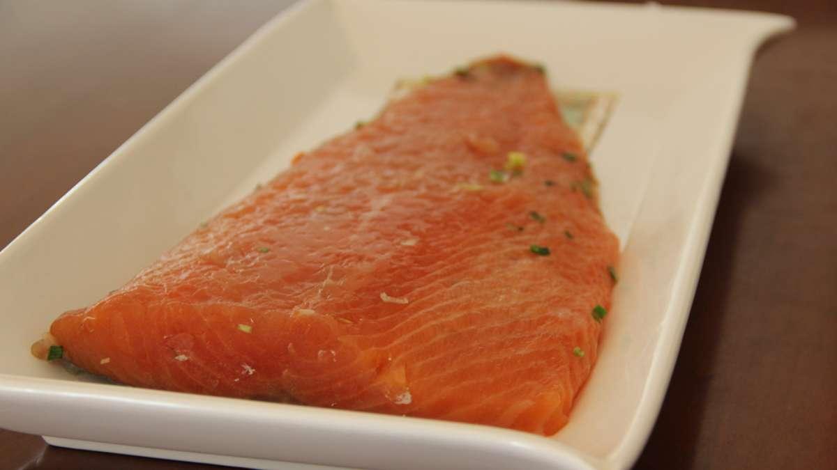 Receta de salmón a la escandinava