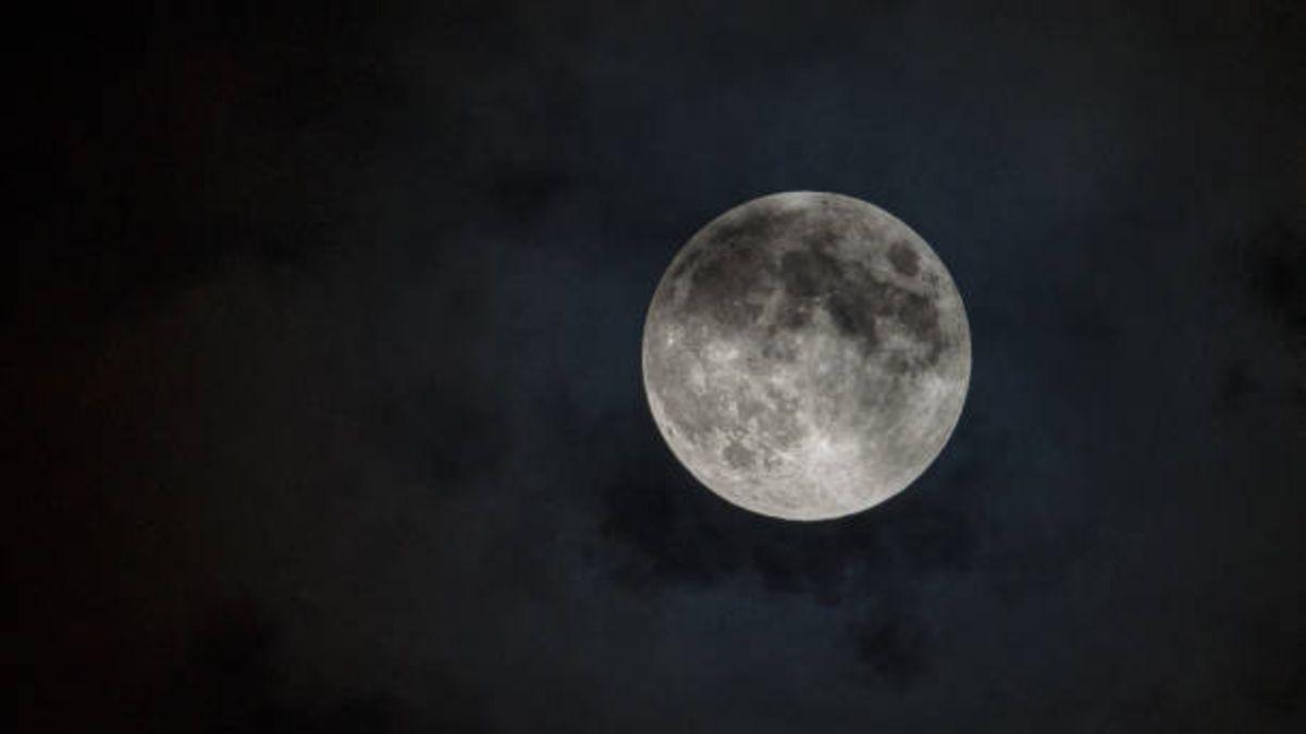La luna llena del castor sólo será visible en la zona norte de España