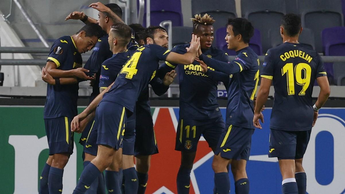 El Villarreal empató ante en Tel Aviv. (AFP)