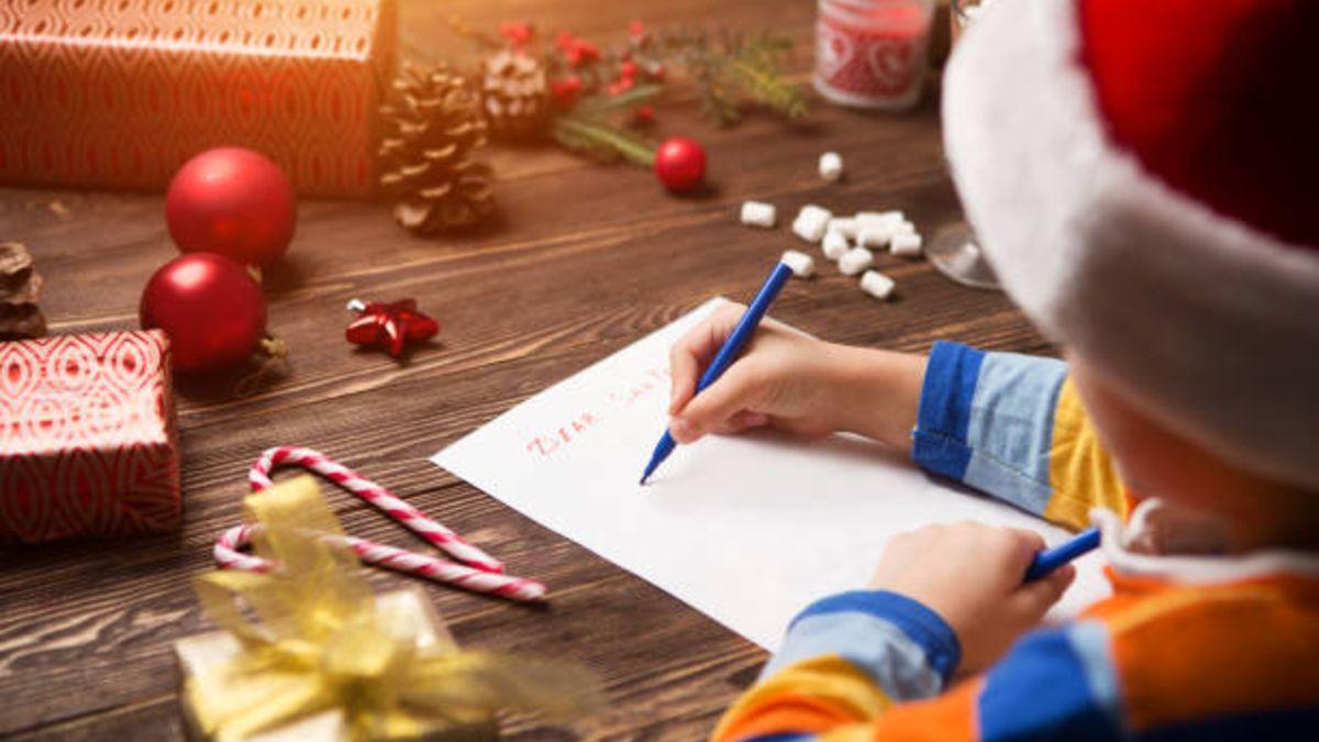 Las mejores ideas para hacer la carta a Papá Noel con los niños