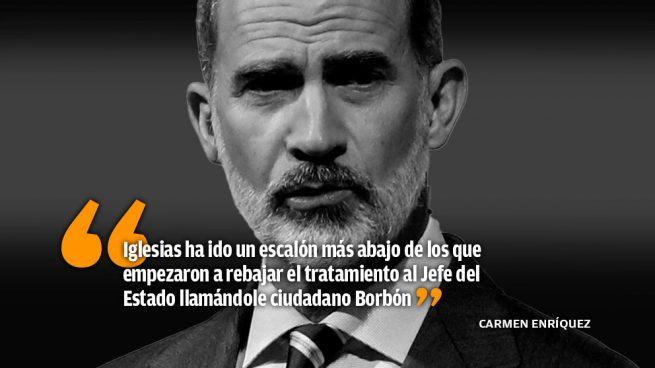 El nuevo alarde de Pablo Iglesias: el tuteo al Rey
