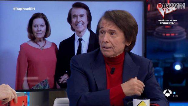 El rapapolvo de Raphael a los políticos en 'El Hormiguero'