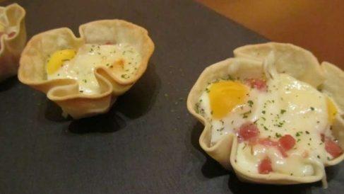Receta de Tartaletas de jamón asado con hinojo