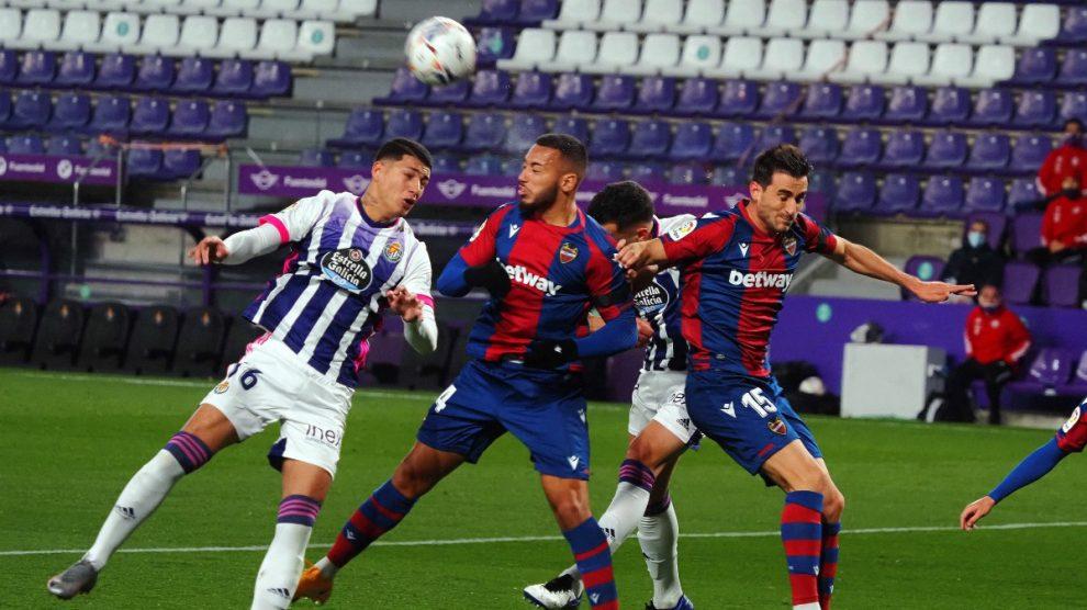 Valladolid y Levante firmaron tablas. (EFE)