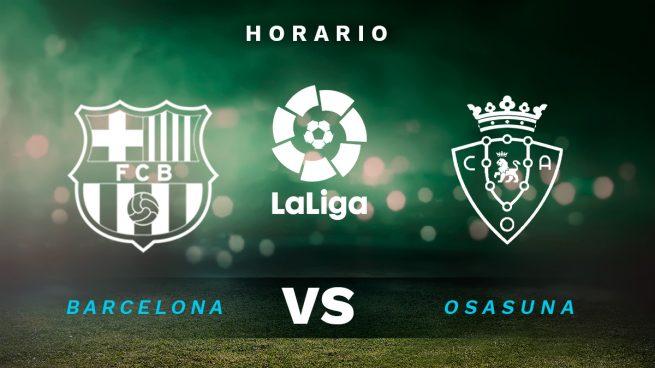 Barcelona Osasuna Horario