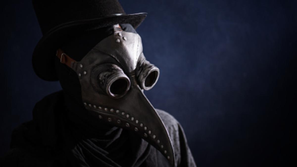 ¿Por qué las máscaras que llevaban para tratar pacientes con peste negra tenían esta forma?