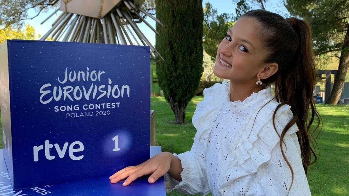 Soleá Fernández Moreno, sevillana de 9 años, será la representante española en Eurovisión Junior 2020 que se celebrará el 29 de noviembre en Varsovia (Polonia), con un formato diferente debido a la pandemia del coronavirus. Foto: EP