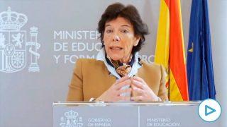 La ministra de Eduación, Isabel Celaá. Foto: EP