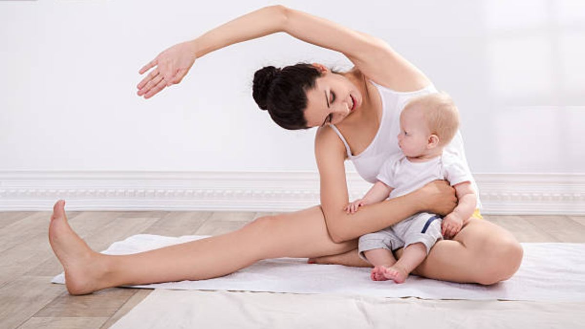 Descubre cómo el yoga puede ayudarte tras dar a luz