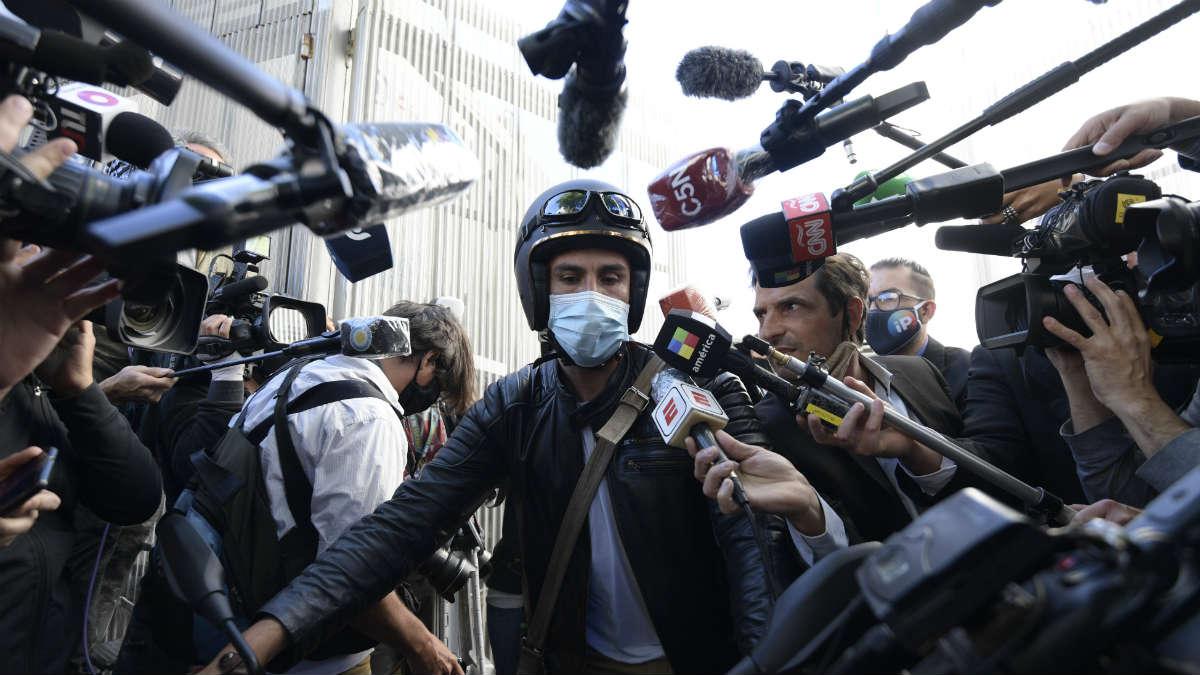 El doctor Leopoldo Luque, médico personal de Maradona. (AFP)