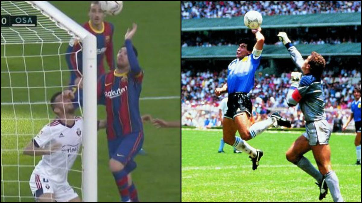 Leo Messi estuvo a punta de emular el gol de Maradona.