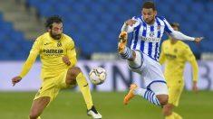 Real Sociedad y Villarreal firmaron tablas (1-1) en Anoeta. (AFP)