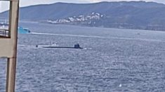 Ecologistas alertan de la presencia de un nuevo submarino nuclear en Gibraltar