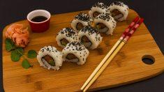 Sushi casero paso a paso