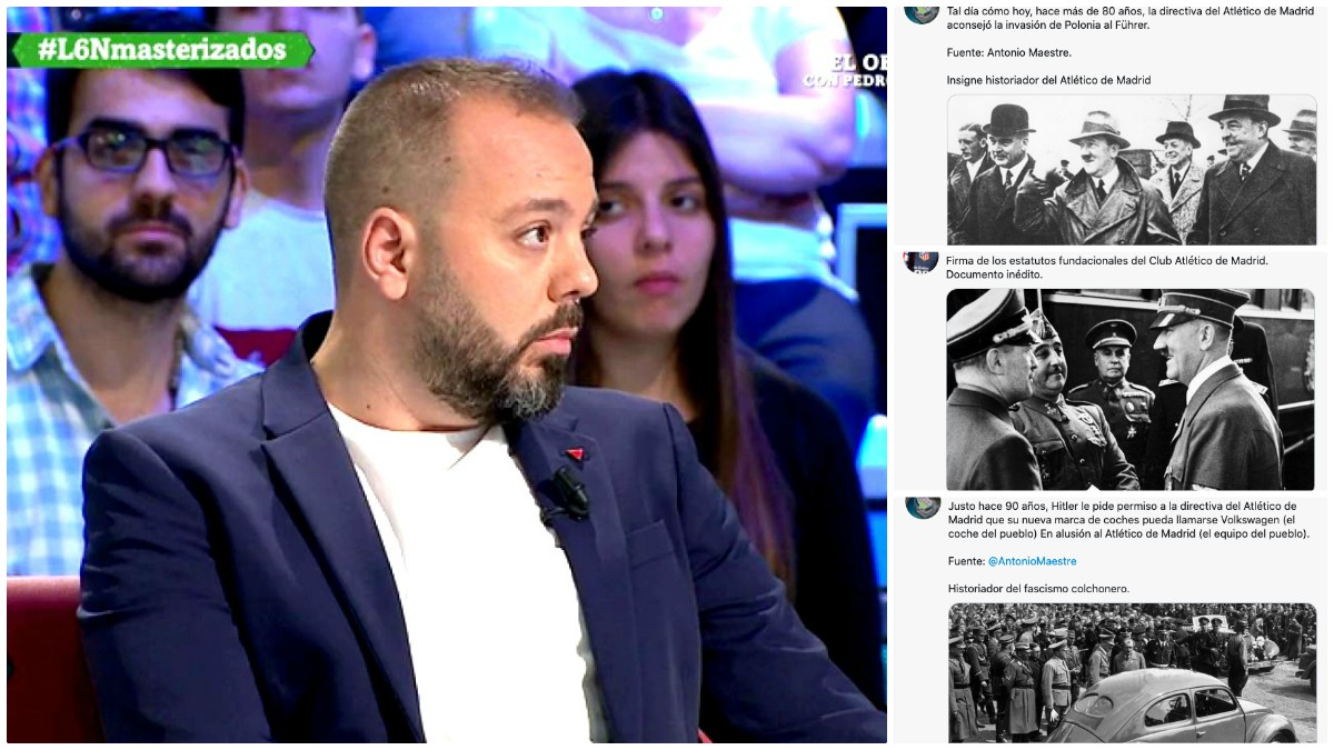 Antonio Maestre es objeto de burla en las redes sociales.