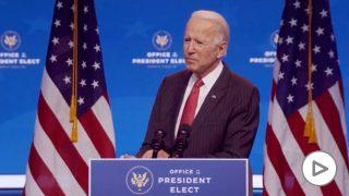 El presidente electo de Estados Unidos, Joe Biden. Foto: EP