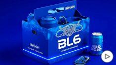 Bud Light diseña la primera videoconsola que enfría cerveza mientras juegas.