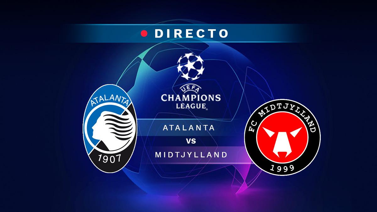 Atalanta - Midtjylland, en directo online: resultado