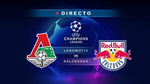 Lokomotiv Moscú-Salzburgo, en directo online: resultado, goles y minuto a minuto del partido de Champions League hoy.