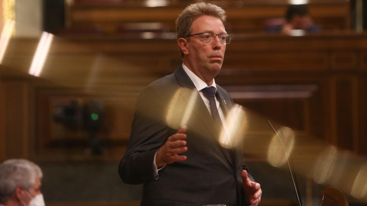 El diputado de JxCat en el Congreso y secretario de Organización del PDeCAT, Ferran Bel. Foto: EP