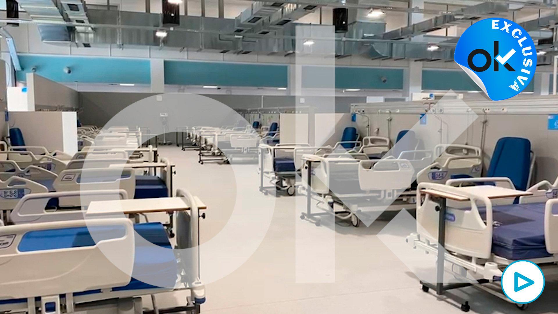 Las 10 claves del hospital de pandemias Isabel Zendal.