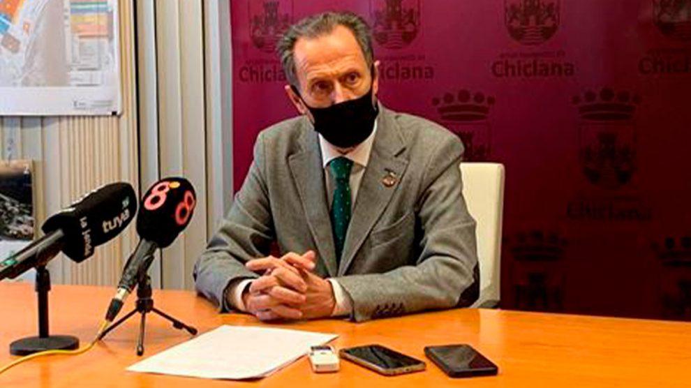 José María Román (PSOE), alcalde de Chiclana de la Frontera (Cádiz).