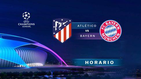 Atlético de Madrid – Bayern Múnich: jornada 5 de la fase de grupos de la Champions League.