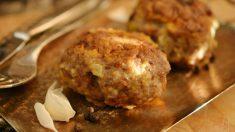 Receta de albóndigas de pavo y quinoa en salsa de curry